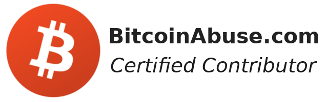 BitcoinAbuse badge